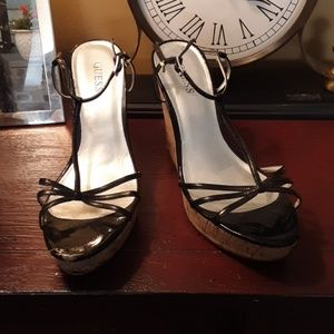 Guess Shoes - SALE!!!Guess patent scandal wedges 9